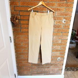 St.John Sport/High Waisted Cream Pants